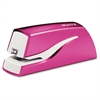 Leitz NeXXt Series WOW Electric Stapler - 10 Sheets Capacity - 4 x AA Batteries - Lightweight Portable - Pink