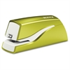 Leitz NeXXt Series WOW Electric Stapler - 10 Sheets Capacity - 4 x AA Batteries - Lightweight Portable - Green