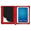 "Saffiano Carrying Case for 10.1"" Tablet - Poppy - Polyurethane - Textured"