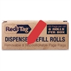 "Redi-Tag Solid Arrow Dispenser Flags - 720 x Red - 0.56"" x 1.88"" - Arrow - Red - Removable - 720 / Box"