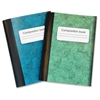 Composition Books - 80 Sheets - Multi-colored Cover - 4 / Pack