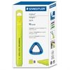 Staedtler Triplus Broad Tip Fluoresct Highlighter - Broad Point Type - Chisel Point Style - Fluorescent Yellow - 10 / Box