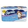 Charmin Ultra Soft Bath Tissue - 2 Ply - White - Soft, Absorbent, Clog-free, Anti-septic - For Bathroom, Toilet - 16 Rolls Per Pack - 16 / Pack