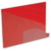 "Poly End Tab Out Guides - Letter - 8.50"" Width x 11"" Length - Red Polypropylene Divider - Red Polypropylene Tab(s) - 25 / Box"