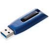 Verbatim 256GB Store 'n' Go V3 MAX USB 3.0 Flash Drive - 256 GBUSB 3.0 - Blue, Black