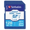 128GB Premium SDXC Memory Card, UHS-I Class 10 - Class 10/UHS-I (U1) - 45 MB/s Read1 Pack - 300x Memory Speed