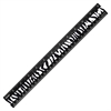 "12"" Zebra Print Ruler - 12"" Length - Imperial, Metric Measuring System - 1 Each - Black, White"