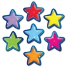 "Stars Magnetic Accents - Learning Theme/Subject - 18 Star - Magnetic - Durable, Damage Resistant - 0.10"" Height x 3"" Width x 3"" Depth - Multicolor - 18 / Pack"