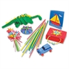 "ChenilleKraft Artstraws Classpack Thin Straws - 1800 Piece(s) - 16.5"" - 1800 / Box - Assorted"