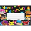 "Trend Birthday BlockStars Recognition Awards - 8.50"" x 5.50"" - Multicolor"