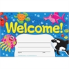 "Welcome Sea Buddies Recognition Awards - 8.50"" x 5.50"" - Multicolor"