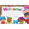 "Trend Welcome BlockStars Recognition Awards - 8.50"" x 5.50"" - Multicolor"