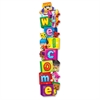 "Trend Welcome BlockStars Expressions Banner - 60"" Width - Multicolor"