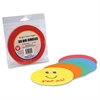 "Color Paper Circles - 50 Piece(s) - 5"" - 50 / Pack - Assorted"