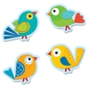 Carson-Dellosa Boho Birds Cut-Outs - 36 (Cutout) Shape - Boho Bird - Precut - Multicolor - Card Stock - 36 / Pack
