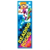 "Reading Rocks Bookmark - Fun Theme/Subject - Reading Rocks - 6.50"" Height x 2"" Width - Multicolor - 36 / Pack"