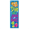 "Dive into a Good Book Bookmark - Encouragement Theme/Subject - Fish Design, Dive into a Good Book - 6.50"" Height x 2"" Width - Multicolor - 36 / Pack"
