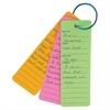 Bright Book Buddies Bookmarks - Fun Theme/Subject - 25 - Assorted - 25 / Pack
