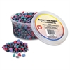 Hygloss Bucket 'O Craft Pebbles - 1 Each - Natural, Rainbow Frost