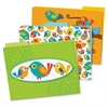 Carson-Dellosa Boho Birds File Folders Set - Multi-colored - 6 / Pack