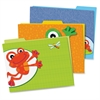 FUNky Frogs File Folders Set - Multi-colored - 6 / Pack