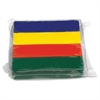 Primary Colors Modeling Clay - 4 / Pack - Red, Yellow, Blue, Green