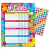 Trend Praise Words 'n Stars Chore Charts - Theme/Subject: Learning - Skill Learning: Star Chart