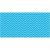 "Chic Chevron Design Bulletin Board Papers - 48"" x 12 ft - 1 Roll - Aqua"