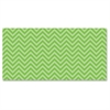 "Fadeless Chic Chevron Design Bulletin Board Papers - 48"" x 12 ft - 1 Roll - Lime - Paper"