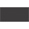 "Fadeless Classic Dots Design Bulletin Board Papers - 48"" x 12 ft - 1 Roll - Black, White - Paper"