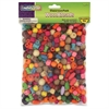 ChenilleKraft Wood Beads - 1 / Pack - Assorted - Wood