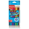 Helix Color'Peps Colored Pencils - Assorted Lead - 12 / Pack