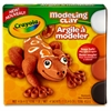Crayola Modeling Clay - 4 / Box - White, Orange, Black, Brown