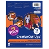 "Pacon Creative Cut-ups Animal Masks Project - 10.9"" x 8.5"" - 32 / Each - Paper"