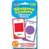 Trend Shapes & Colors Memory Match Challenge Cards - Theme/Subject: Learning - Skill Learning: Shape, Color Matching - 56 Pieces - 3+
