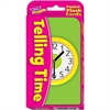 Trend Telling Time Flash Cards - Theme/Subject: Learning - Skill Learning: Time - 56 Pieces - 6+