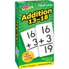 Trend Addition 13-18 Flash Cards - Theme/Subject: Learning - Skill Learning: Addition - 99 Pieces - 6+
