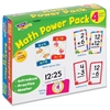 Trend Math Power Pack Flash Cards - Theme/Subject: Learning - Skill Learning: Mathematics, Subtraction, Addition - 56 Pieces - 5+