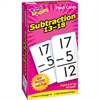 Trend Subtraction 13-18 Flash Cards - Theme/Subject: Learning - Skill Learning: Subtraction - 99 Pieces - 6+