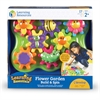 Learning Resources Gears! Gears! Gears! Jr Flower Garden Building Set - Skill Learning: Creativity, Matching, Building, Cause & Effect, Fine Motor
