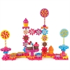 Learning Resources Sweet Shop Construction Set - Theme/Subject: Fun, Learning - Skill Learning: Critical Thinking, Problem Solving, Fine Motor, Building, Construction - 82 Pieces