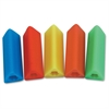 The Pencil Grip Pencil Grip Triangle Pencil Grips - 12/Pack - Neon