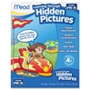 PK-K Learning Through Hidden Pictures Workbook Learning Printed Book - Book - 64 Pages