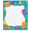"Trend Sea Buddies Rectangle Notepad - 50 Sheets - 6.50"" x 7.75"" - Multicolor Paper - 50 / Pad"