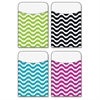"Trend Wavy Terrific Pockets Variety Pack - 5.3"" Height x 3.5"" Width - Multi - 40 / Pack"