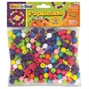 ChenilleKraft Pop Beads - 300 Piece(s) - 300 / Pack - Assorted - Plastic