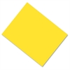 "Pacon Coated Poster Board - 28"" x 22"" - 25 / Carton - Yellow - Card Stock"