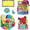 BlockStars! Bulletin Board Set - Learning, Encouragement Theme/Subject - Star Student, Dog, Cat, Label - Multicolor - 23 / Set