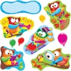 "Trend Owl-Stars Bulletin Board Set - Encouragement Theme/Subject - 11, 5 (Owl, Balloon) Shape x 18"" Width - Multicolor - 17 / Set"