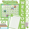 "Teacher Created Resources Lime/Dots Accents Board Set - Learning Theme/Subject - Polka Dot - Durable, Damage Resistant - 0.50"" Height x 18"" Width x 30.25"" Depth - Lime - 1 Set"